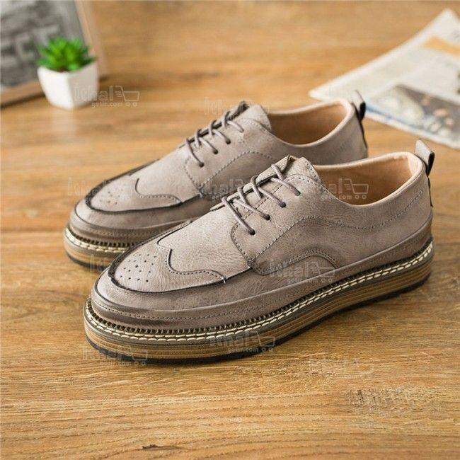 Yüksek Kaliteli Malzemelerden Üretim Moda Erkek Ayakkabı Modelleri - 571582 - 10