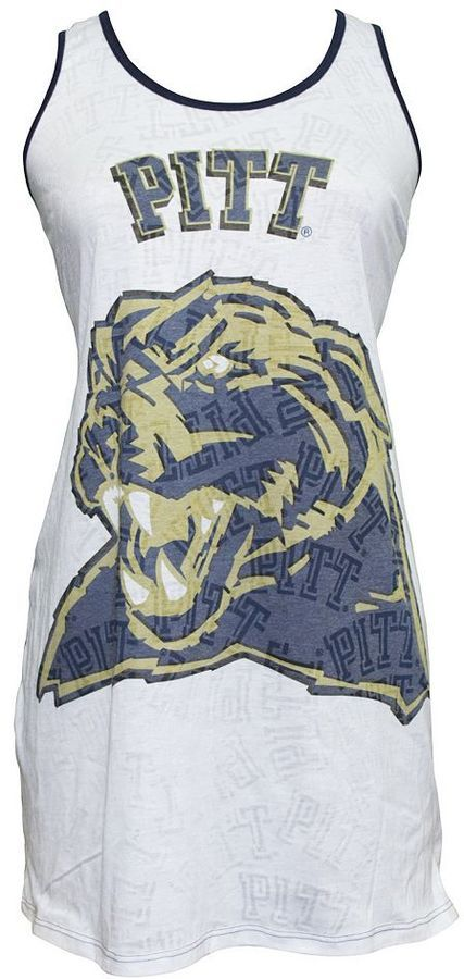 Women's Pitt Panthers Cameo Nightgown