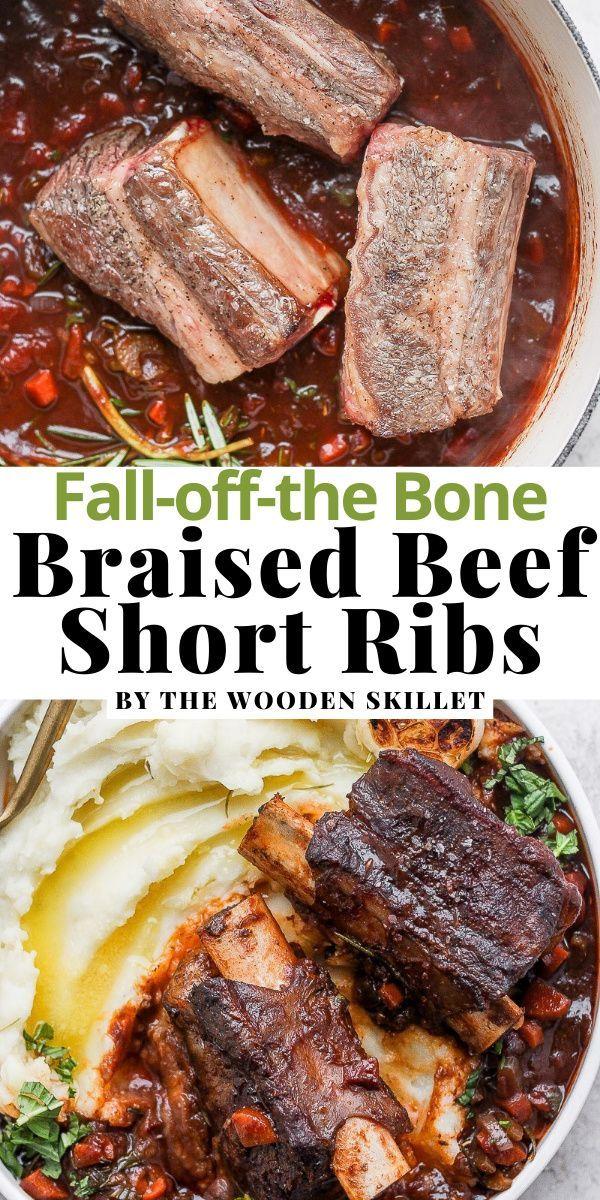 Braised Beef Short Ribs Recipe Braised Beef Short Ribs Recipe Healthy Beef Recipes Braised Beef