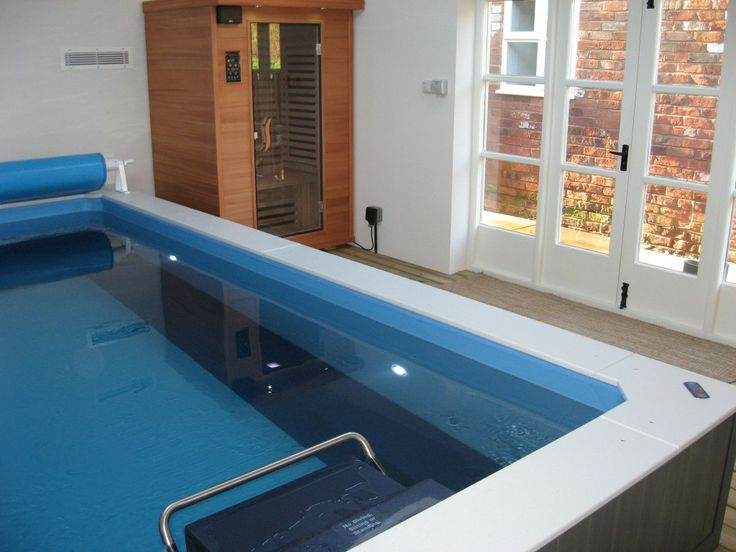 460 best endless pools images on pinterest endless for Endless pool in basement