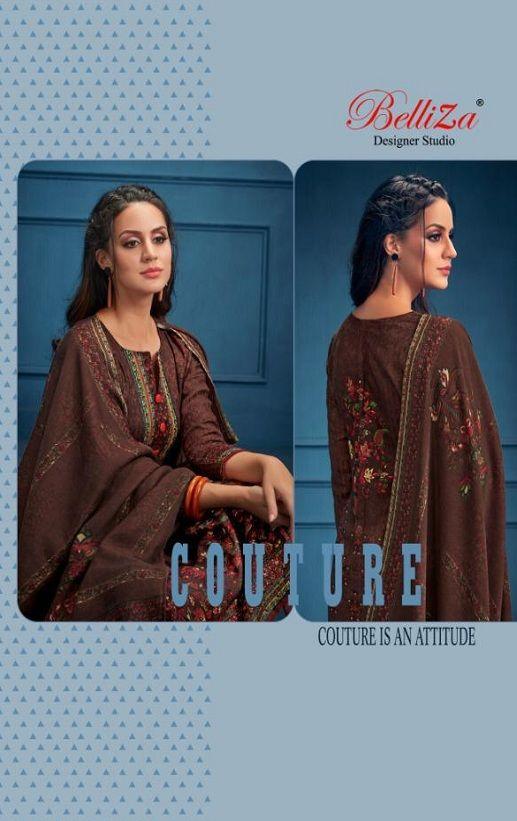 8357a75901 Belliza DesigNer Studio Al'Marina vol 3 premium shawl collection suits  184-007