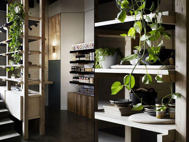 Восхитительный дизайн продуктового магазина и кафе Cannings Free Range Butcher в Австралии