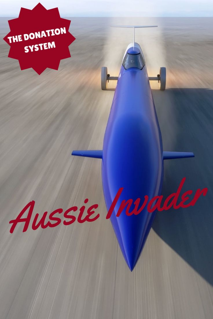 The quest to set a new land speed record is not a cheap one. To get to the point of simply being able to make the attempt represents a lot of energy, determination, technical excellence, and funding. The Aussie Invader organisation is a not-for-profit so funding is always going to be a challenge. Fortunately the Aussie invader story is the stuff dreams are made of and as a result, there is a very loyal and engaged community that supports this adventure.
