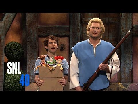 Cut For Time: Disney Characters (Blake Shelton) - SNL - YouTube