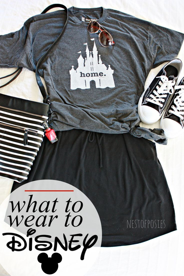 What to wear to Disney. A post giving you tips on how to layer your clothes while at Disney, what you should pack to Disney and what to wear.