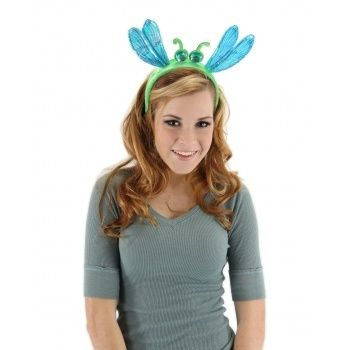 Dragonfly headband bug antennae antenna costume accessory for Black headbands dollar tree