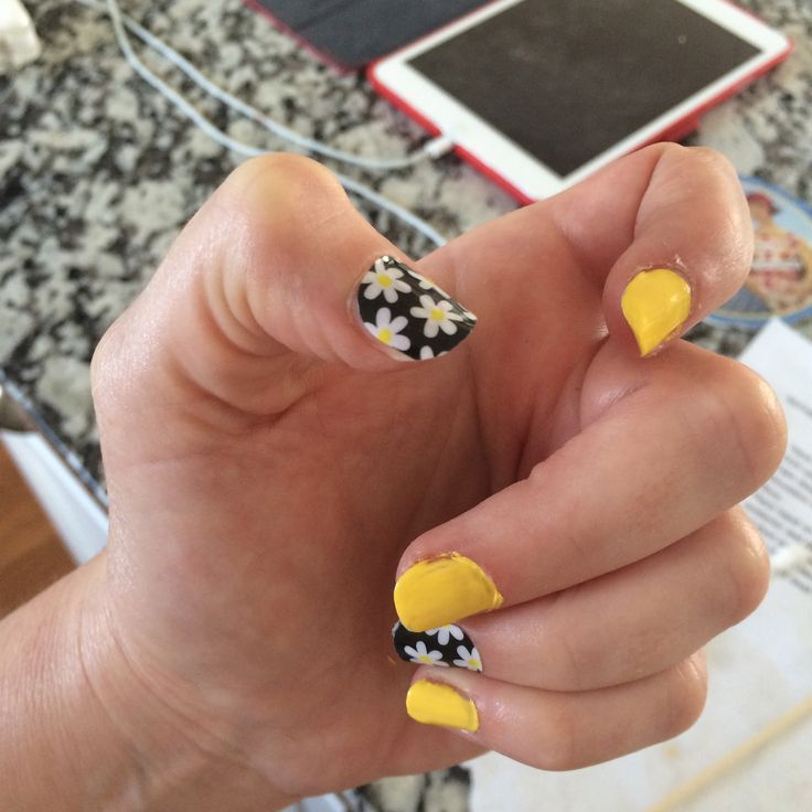 The 607 best yellow nails images on Pinterest | Yellow nails, Nail ...