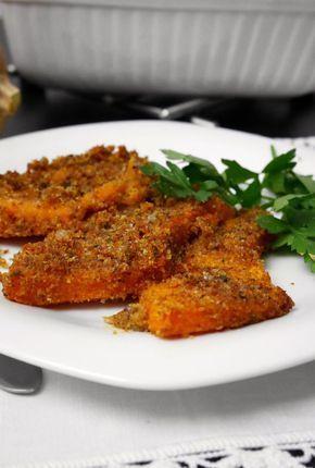 La zucca al forno gratinata è un piatto molto semplice e leggero. Siamo nel pieno della stagione della zucca rossa ed a mia madre hanno regalato una zucca