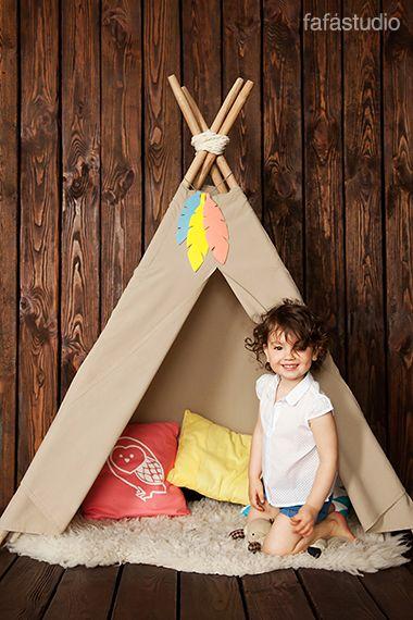 Children's photoshoot. Детская фотосессия от Fafastudio. #Fafastudio #Childrens_photoshoot #baby_photoshoot #kids_photoshoot #wigwam #teepee_tent