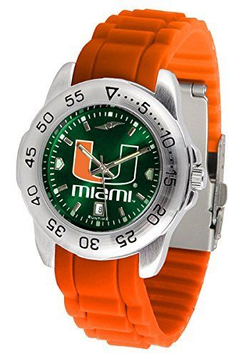 University of Miami Hurricanes Sports Watch by SunTime. University of Miami Hurricanes Sports Watch.