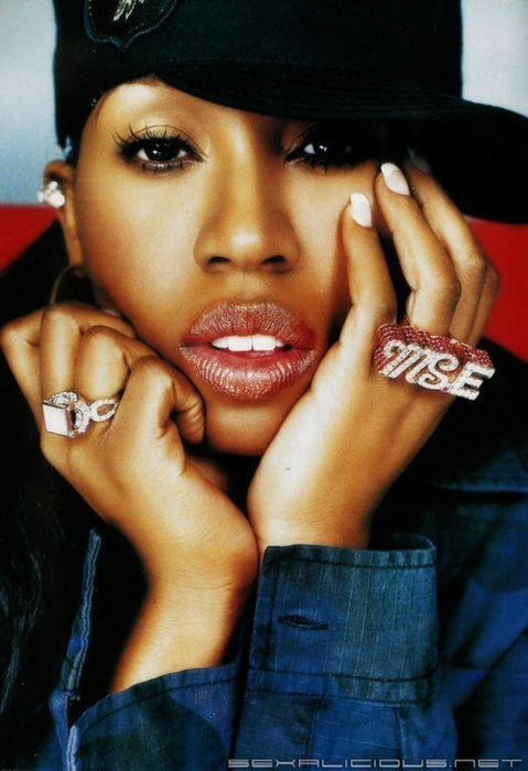 Missy Eliot is a strong black rapper who really influenced hip hop in the 90s
