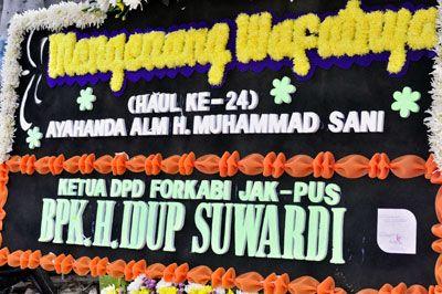 Haul ke-24 H. Muhammad Sani