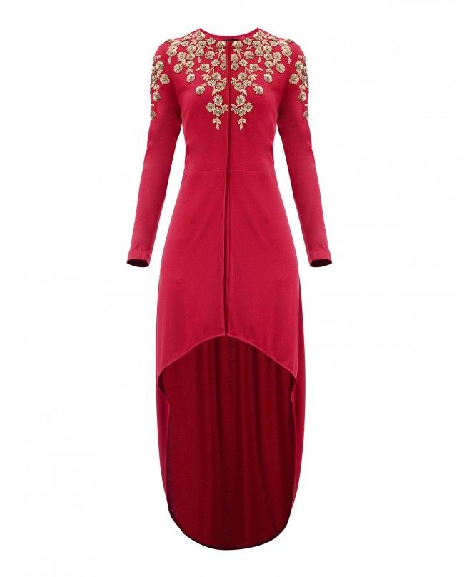 Red Vine Blossom Tunic - New Arrivals | SHOP NOW ON : http://bit.ly/NamrataJoshipura_shop