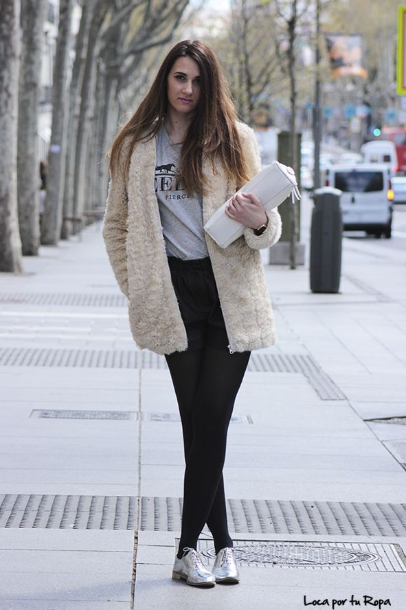 zapatos plateados Loca Por Tu Ropa The Style Take The Street #1 http://losperrosnobailan.blogspot.com/2014/05/the-style-take-street-1.html?spref=tw #fashion #style #streetstyle