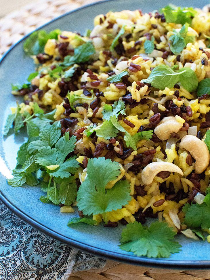 Indiske ris - lækker opskrift på skønt tilbehør til indisk mad