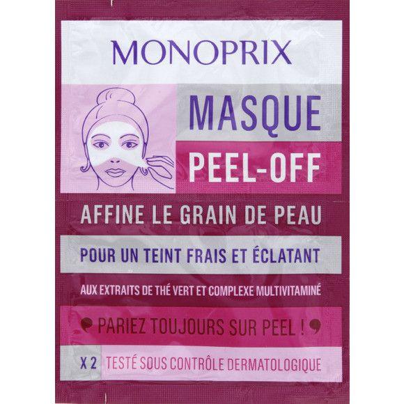 Connaissez-vous les masques Peel off? Je voulais en tester un depuis un moment, j'ai donc opté pour le «masque Peel-off Monoprix» aux extraits de thé vert et complexe multivitaminé (vendu sous l…