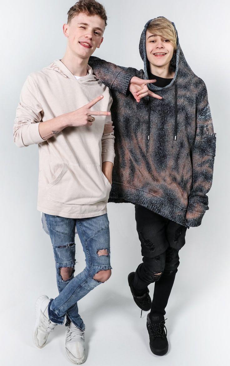I want their hoodies BAM Leo x Charlie