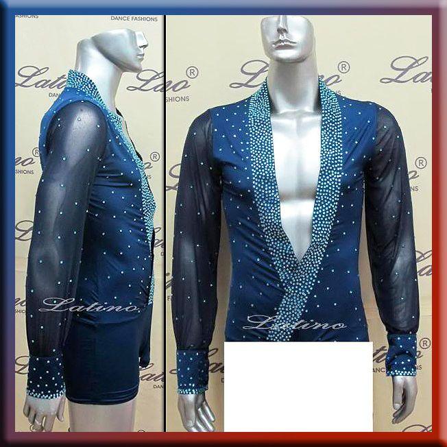 MEN'S LATIN SALSA (BALLROOM) DANCE COMPETITION SHIRT SIZE S, M, L (B16L1) | Clothing, Shoes & Accessories, Men's Clothing, Other Men's Clothing | eBay!