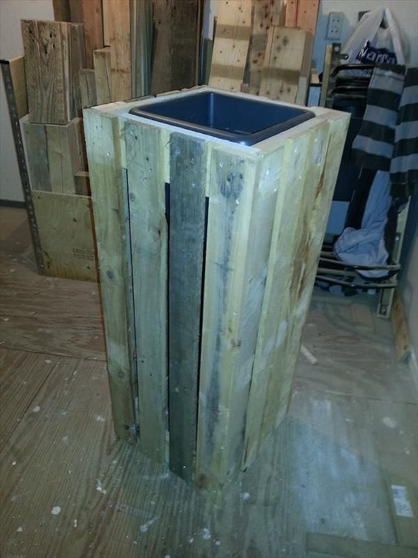 DIY Pallet Planter Boxes | 101 Pallets