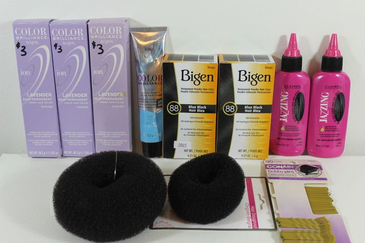 Mixed Lot of 11 Hair Dye Ion Color Brilliance Brights Pastels Bigen Clairol #Mix #pastels #hairdye #haircolor #