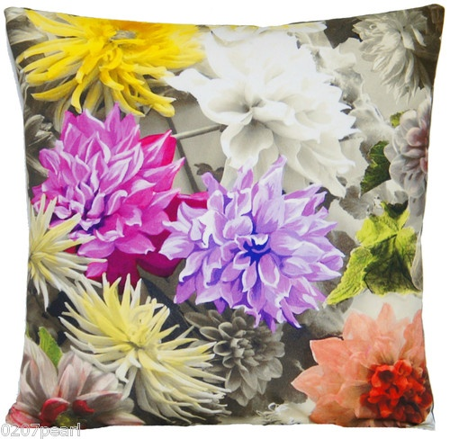 Cushion Cover Designers Guild Digital Printed Fabric Mariedal Blooms Painted