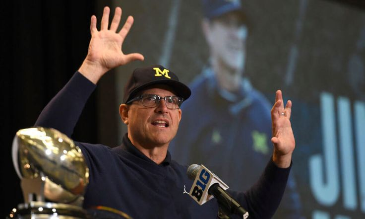Jim Harbaugh finally releases Michigan roster = Michigan Wolverines head coach Jim Harbaugh and Florida Gators head coach Jim McElwain have stirred the pot plenty leading up to Saturday's game at AT&T Stadium. The two have exchanged jabs, with McElwain recently expressing.....