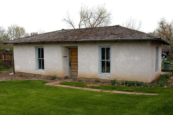 Pioneer sod house, Wheat Ridge, Colorado [2,100 × 1,398] - Cool Houses Pictures And Dream Home Unique Designs, Big, Medium Size And Small House Design Ideas