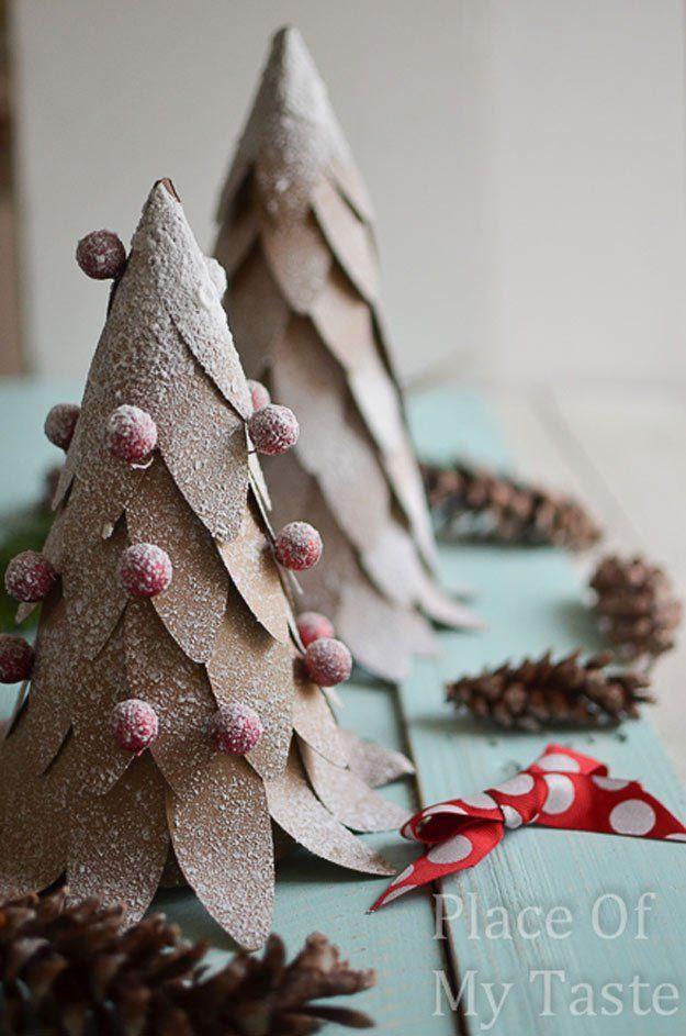 Paper Christmas Tree | Easy DIY Christmas Decorations | Make Simple Christmas Decor