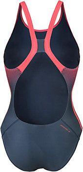 <title>Adidas Schwimmanzug Damen koralle/graublau im Online Shop von…