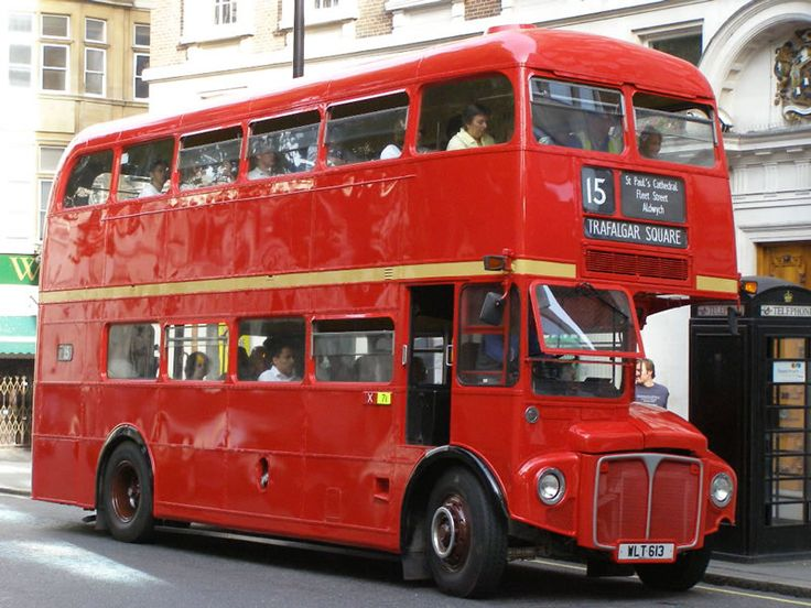how many double decker busses in london