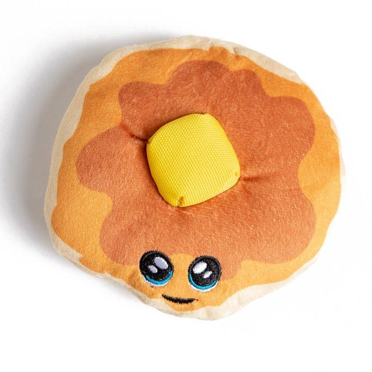 Patty Pancake Plush Dog Toy in 2020 Plush dog toys