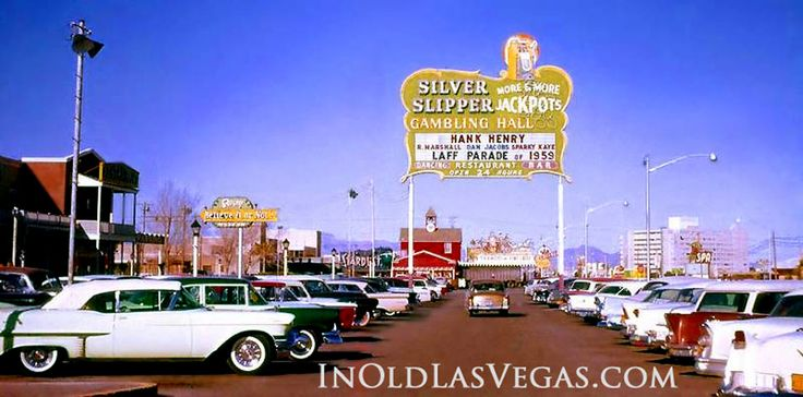 Remember going to Vegas with my mom and dad !!  Wasn't born yet in 1959... but 1969... definitely visited the Silver Slipper!!!