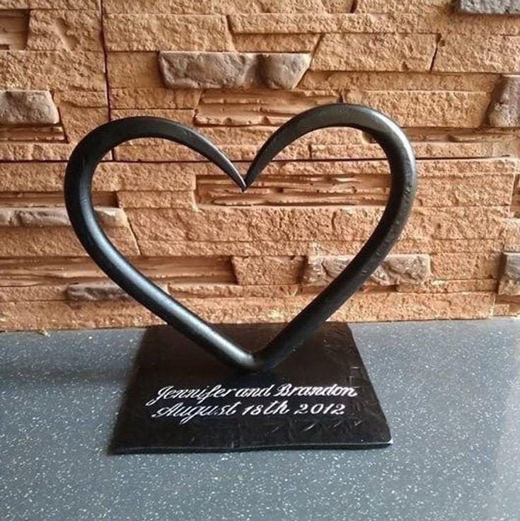 6th anniversary gift iron wedding hand iron