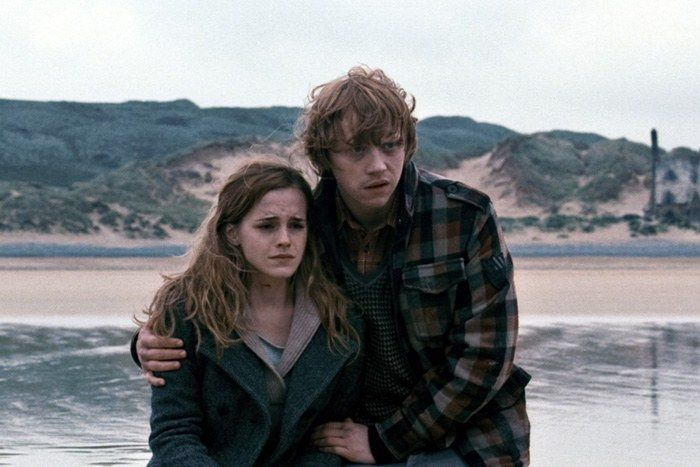 11 Ya Couples We Ll Always Be Obsessed With Ron And Hermione Harry And Hermione Fanfiction Harry Potter Characters