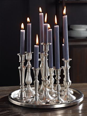 INSPIRATION - Use the candlesticks - paint (Source : http://camillaathome.blogspot.fr/search?updated-max=2010-09-11T15:02:00%2B02:00=25)