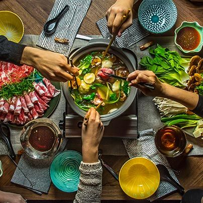 If you want to make it an effortless party, keep things simple, stupid, with shabu shabu. Make our recipe for the Japanese soup and dipping sauces tonight!