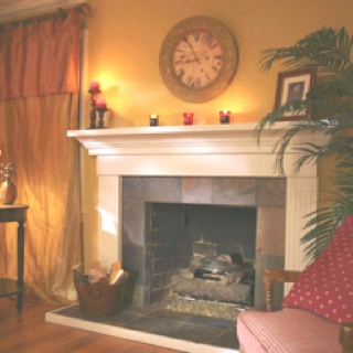 Fireplace ideas: Slate Fireplaces, Fireplace Design, White Fireplace, Google Search, Fireplaces Remodel, Fireplaces Surroundings, Fireplaces Ideas, Slate Tiles, Fireplace Ideas