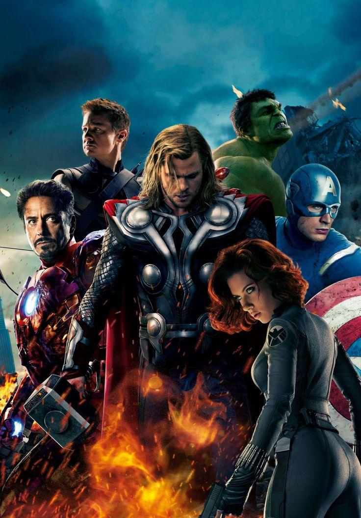 The Avengers 2012 v002 Movie Poster 27 x 40 Comics