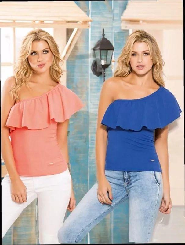 blusas campesinas, de boleros, de moda de varios estilos