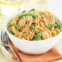 Sesame chicken with green beans and lomein.Asian Wegman, Frozen Food, Beans Wegman, Wegman Easy, Asian Classic, Green Beans, Easy Recipes, Recipe Recipe, Lomein