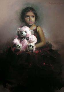Pramod Kurlekar: Soft Pastel Paintings:
