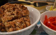 Saftiga Scones med  keso, linfrön och solroskärnor på Amandas vis (utan vetemjöl)