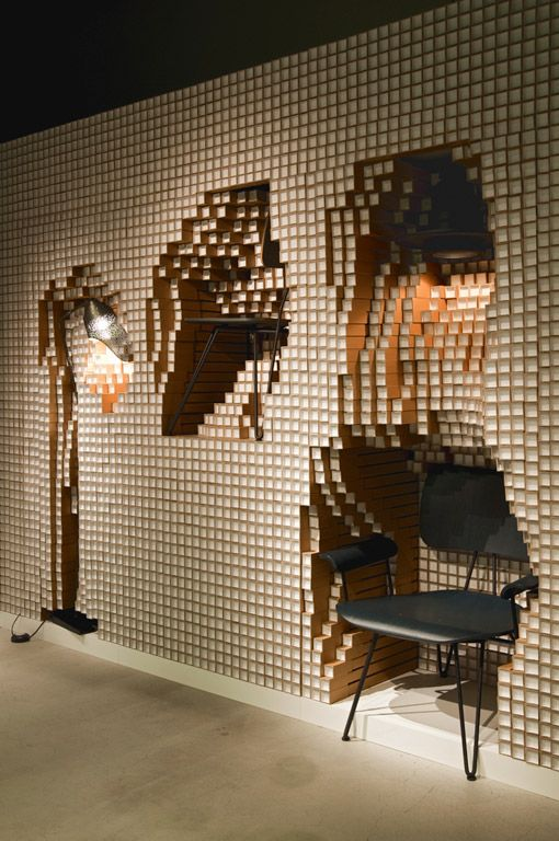 digit / store installation by yoshimasa tsutsumi for diesel art gallery.