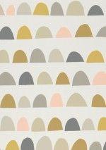 €58,90 Precio por rollo (por m2 €11,26), Papel pintado vintage, Material base: Papel pintado TNT, Superficie: Liso, Aspecto: Mate, Diseño: Elementos gráficos, Color base: Blanco crema, Color del patrón: Gris beige, Gris, Marrón verdoso, Rosa claro, Amarillo miel, Características: Buena resistencia a la luz, Difícilmente inflamable, Fácil de desprender en seco, Encolar la pared, Resistente al lavado