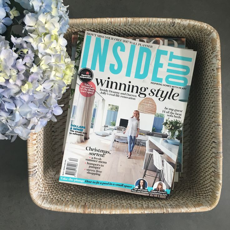 Todays read... Inside Out Mag featuring the stunning new home of Darren and Deanne!