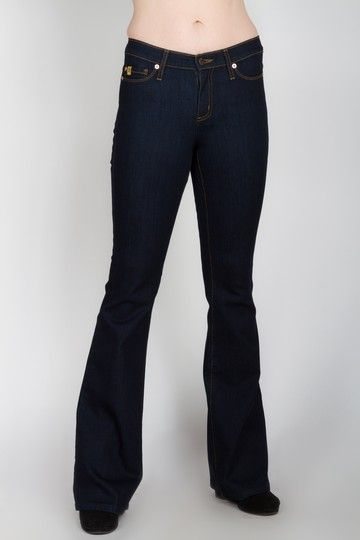 Yoga Flared Jeans at Plum.