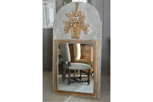 Louis Xv Mirror   Vinterior   #18thcentury #antique