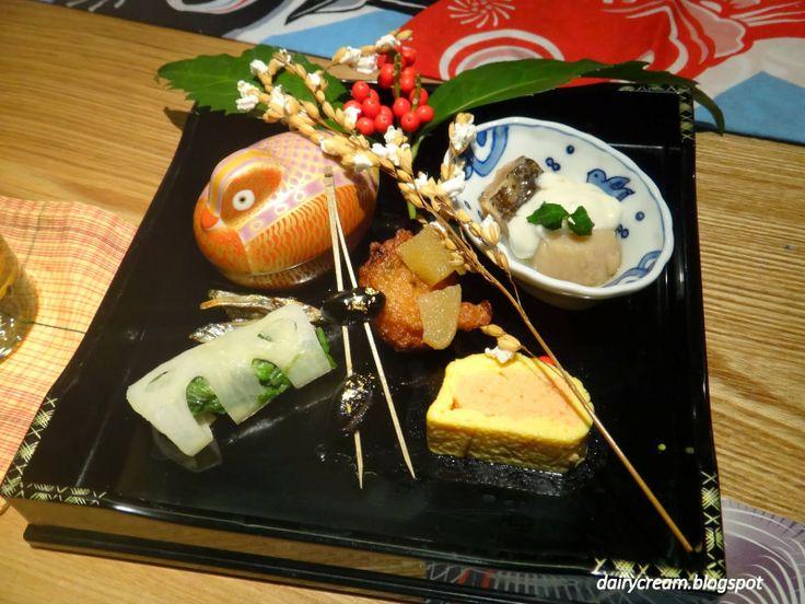 前菜盛り合わせ Appetizer Platter, Giro Giro Kagurazaka くずし割烹 枝魯枝魯, Tokyo