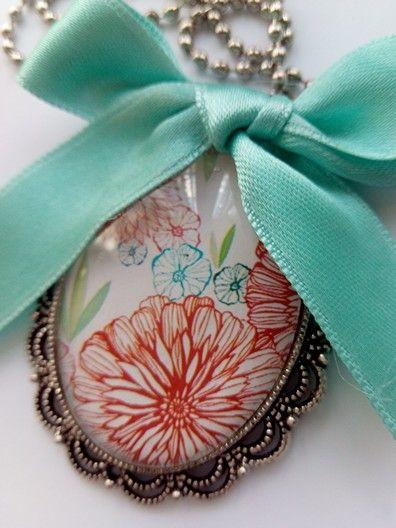 Lovely romantic necklace bisuteria colgante