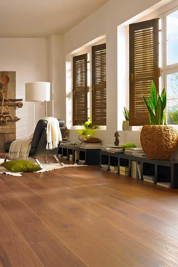 Great Ein Warmer Raum Mit Schickem Vinylboden Vom KWG U2013 Ein Wohnzimmer Mit  Topflanzen, Vinylboden Und Awesome Ideas